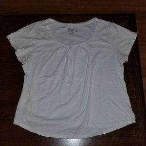 Hanes white short sleeve shirt size XXL